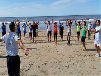 Vierkamp voor de verjaardag van Jolanda Kraay